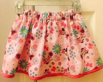 Minnie Mouse pink skirt