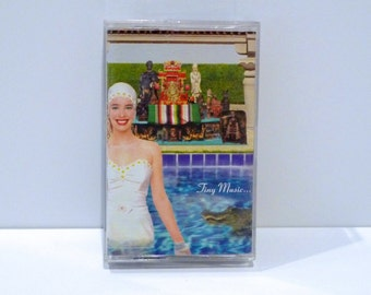 Stone Temple Pilots Band Vintage Cassette Tape Tiny Music Songs From The Vatican Gift Shop 1996 Seattle Grunge STP Scott Weiland Big Bang