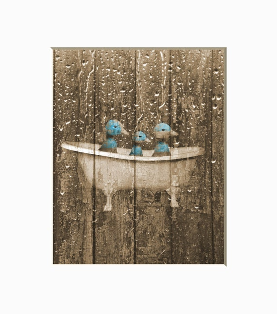 852 Bathtub Data Base Emails Contact Us Hk Mail: Rustic Country Vintage Bathroom Wall Decor Ducks In Bathtub