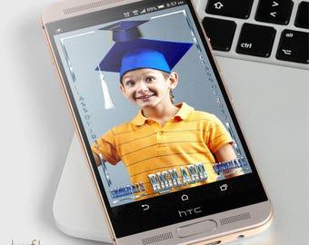 Custom Snapchat Geofilter Colored Graduation Cap and Tassel Class of 2017 | Graduation Decor