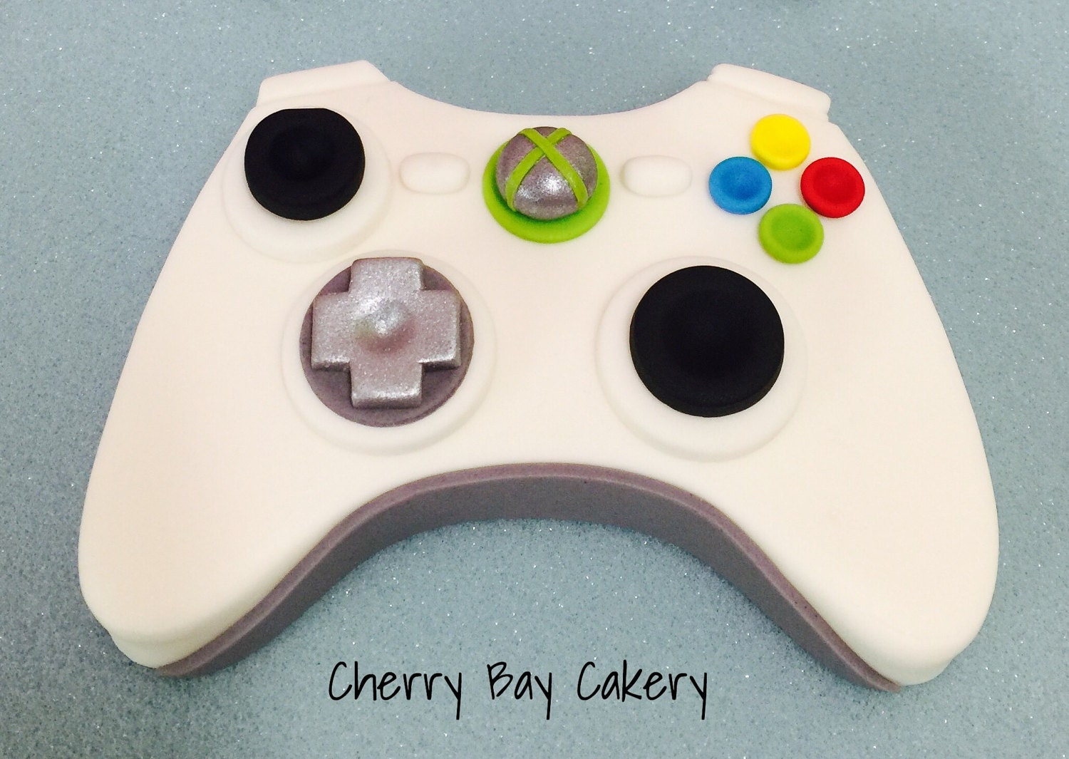 Video Game Controller Cake Topper