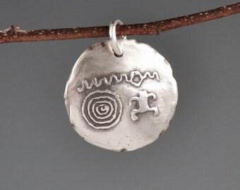 Zion National Park totem-talisman-charm-amulet-Utah-petroglyph