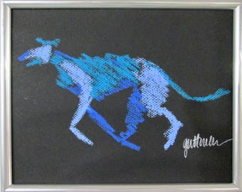 Trotting Sighthound