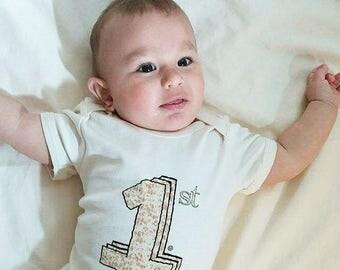 Baby's First Passover Organic Bodysuit