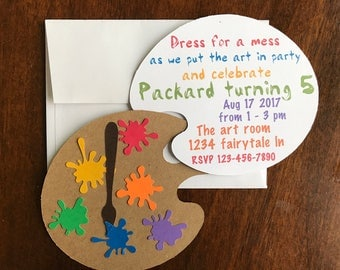 paint party invite, paint party, painting invitation, painting party, paint invitation art party invite art party art invitation art invite