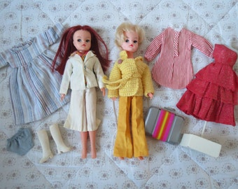Vintage Sindy Doll Two dolls and lot