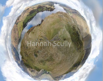 Ullswater , Lake District Panoramic print
