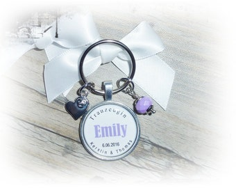 Keychain maid of honor