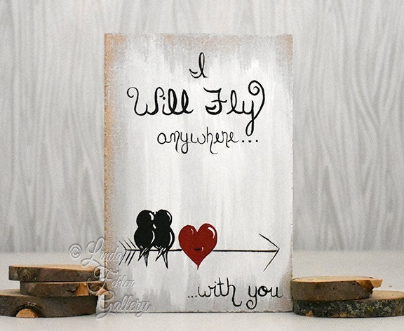 5th Wedding Anniversary Gift Ideas For Him: 5th Anniversary Gift For Him Rustic Signs Arrows Wedding Gift