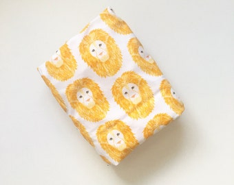 Crib Sheet Lion Heads. Fitted Crib Sheet. Baby Bedding. Crib Bedding. Minky Crib Sheet. Crib Sheets. Animal Crib Sheet. Gold Crib Sheet.