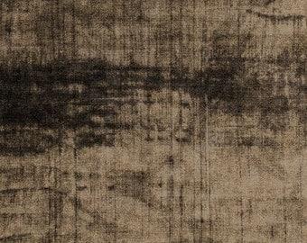 NEW Marcia Derse Studio Alphabet Big Kahuna Black Grey Brown fabric BTY