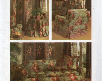 Simplicity House Pattern 8404 RELAXED SLIPCOVERS & MORE