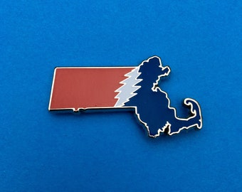 Massachusetts Grateful Dead Pin