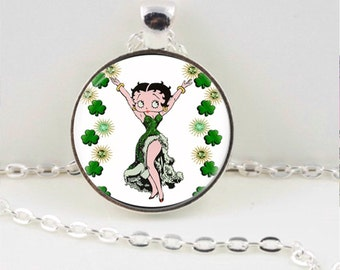 Betty Boop pendant or keychain