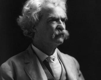 Author Mark Twain, 1909 Photo