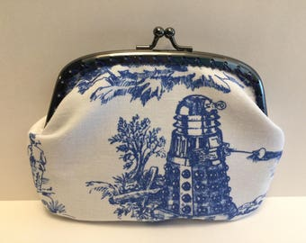 Large Dr Who Dalek Toille Coin Purse
