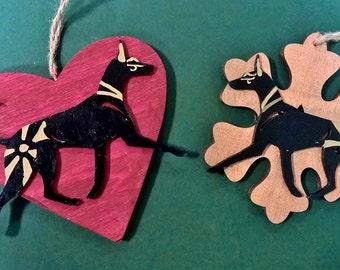 UniQ Anubis / Pharaohhound christmas ornaments !