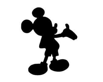 Mickey Mouse Sticker Etsy - Disney custom vinyl stickers