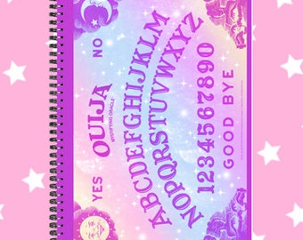 Ouija sketchbook notebook fairy kei