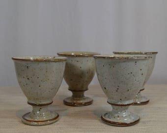 Dansk Pottery Goblets made in Japan