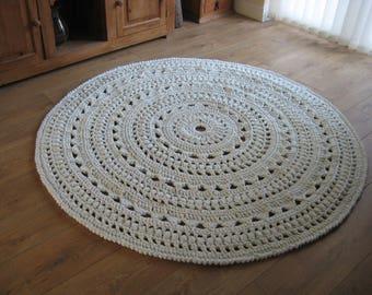 Bespoke Stunning Handmade in Wales Crochet Rug