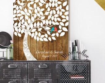 Wedding Gift Guest Book Alternative Signs Wood Ideas Canvas