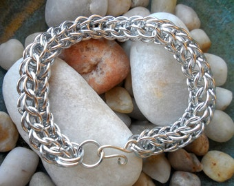 Full Persian Foxtail Chain Mail Bracelet