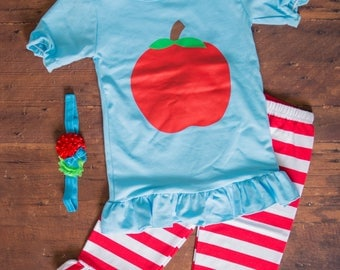 Apple Outfit and Headband Set