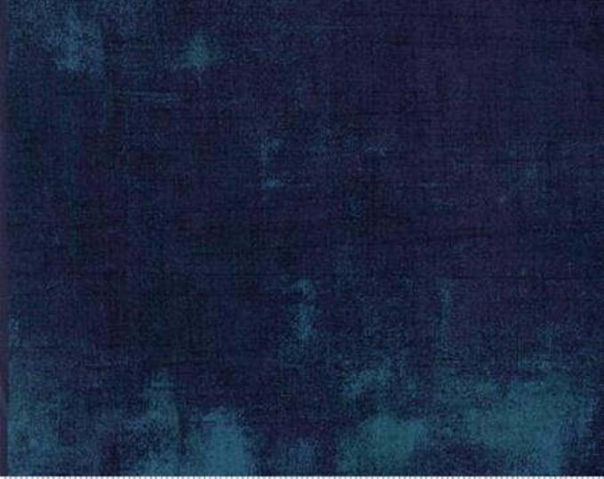 Grunge Basics in Blue Steel- BasicGrey for Moda