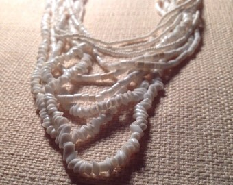 60s Vintage multi strand necklace  - in great condition
