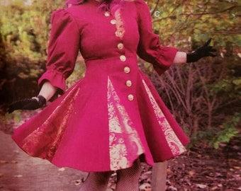 Cosplay Victorian Style Dress Coat