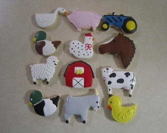 12 Down on the Farm Cookies