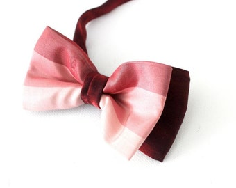 bowtie,bow tie,mens bow tie,festively in copper patterned