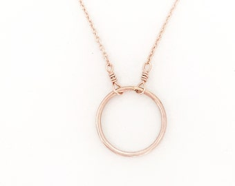 Gold Circle Necklace, Karma Necklace Gold, Gold Karma Necklace, Karma Circle Necklace, Karma Circle, Circle Necklace, Karma Necklace Gold