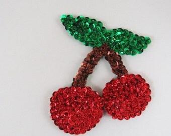 Cherry Magnet Felt Magnet Kitchen Magnet Refrigerator Magnets