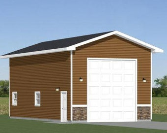 Items similar to 16x20 sheds pdf floor plans 320 sq for 32x40 garage plans
