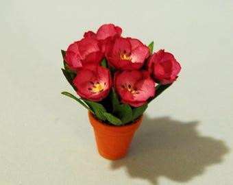 1 inch scale miniature-Tulip