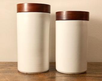 Mid-Century Modern Jars/Cainisters