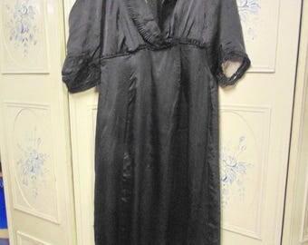 "1910 Black Dress, Bust 40"""