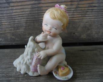Baby Girl Figurine