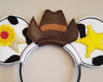 Disney Inspired Mouse Ears Toy Story Woody themed