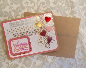 Always Love All Ways Valentines Card