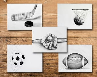 Sports Nursery Decor - Sports Decor - Nursery Decor -Sports Wall Decor -  Kids Room Sports Decor - Nursery Decor Sports - Sports Kids Room