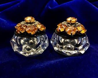 Amber Twins Matching Story Boxes has Seven Beautiful Amber Gems