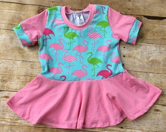 Piper Peplum, peplum top, long sleeve, girl shirt, toddler shirt, short sleeved top, knit top