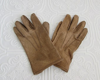 Childs Wear Right Gloves, Vintage Leather Childs Gloves, Wear Right Gloves, Childrens Leather Gloves, Leather Gloves, Vintage Leather Gloves
