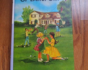 The Bobbsey Twins of Lakeport Vintage Mystery Books Laura Lee Hope
