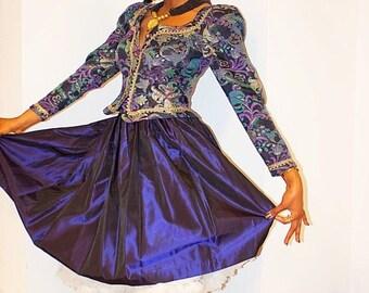 SALE Stunning Vintage Cachet by Bari Protas Blazer & Skirt Set