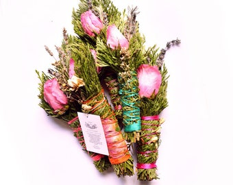 Herbal Rose Smudge Stick