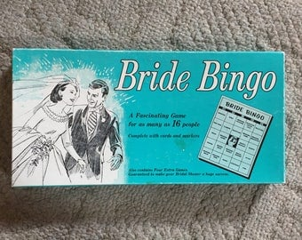 Bride Bingo Game